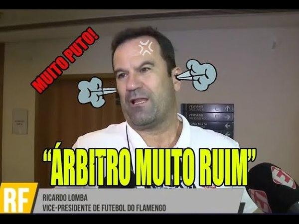 Ricardo Lomba dispara contra a arbitragem: árbitro muito ruim