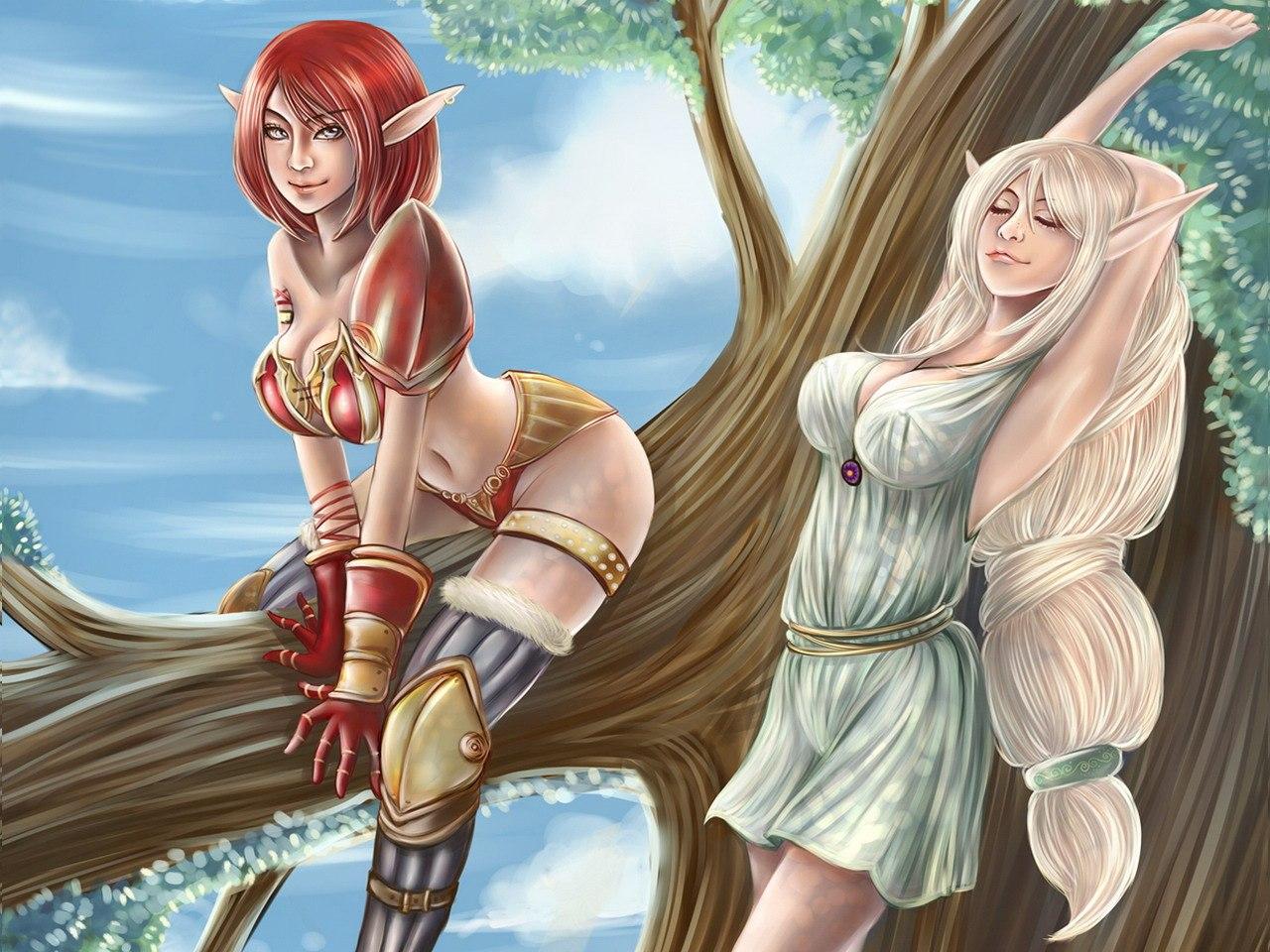 Elfen girls porno naked galleries