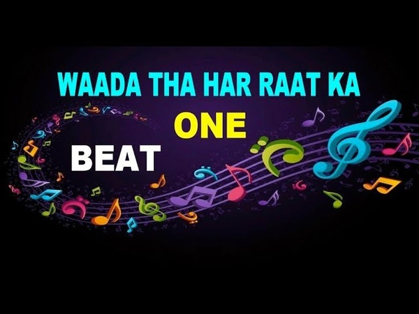 Waada One Beat Full Karaoke Tony Kakkar Perfect Lyric YouTube