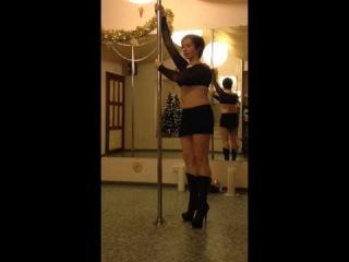 Урок на пилоне №13. Связка для Pole Dance