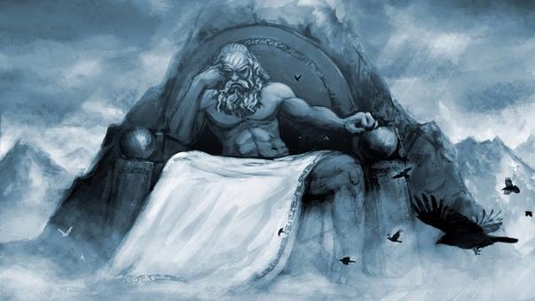 Зевс и титан Крон. Мифология Древней Греции