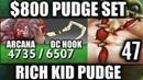 $800 PUDGE Set NEW CANCER RAIDBOSS 6K HP 7.20 Update Epic Pro WTF Arcana DC Hook Dota 2
