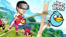 САМАЯ БОЛЬШАЯ РОГАТКА В ВИРТУАЛЬНОЙ РЕАЛЬНОСТИ HTC Vive Angry Birds VR