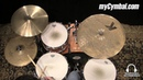 Used Zildjian 14 K Custom Special Dry Hi Hat Cymbals U14KCSDH 1042314C