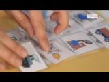 Как заламинировать бумажные карточки утюгом