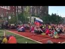 Фан-зона КРОСТ в жилом комплексе Новая Звезда
