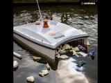 Аквадрон очищает воду от пластика