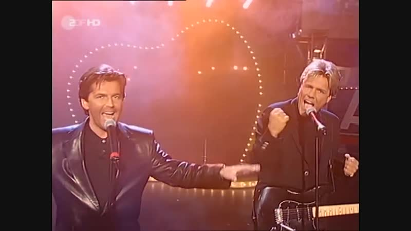 Modern Talking - No.1 Hit Medley (ZDF, Wetten, daß..? 28.03.1998)