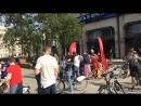 На работу на велосипеде энерготочка у ТАСС