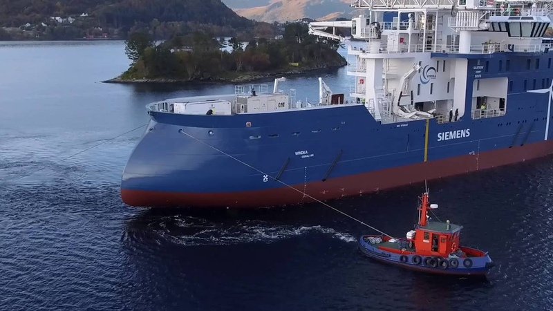 Launch of Yno 310, Windea TBN, an SOV vessel by Ulstein Group