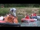 Тренировки по водному выживанию экипажа в составе Андрея Борисенко и Джессики Миер