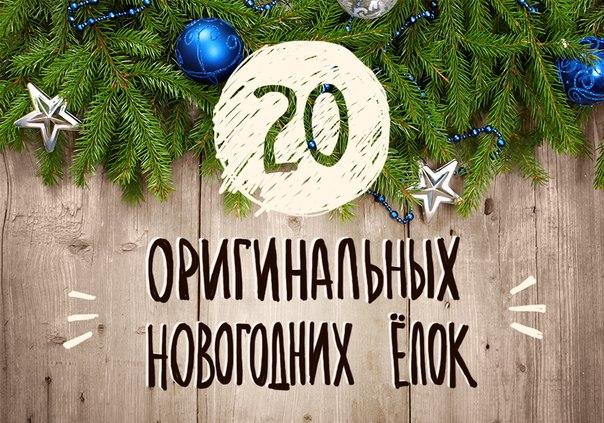 20 оригинальных новогодних ёлок →