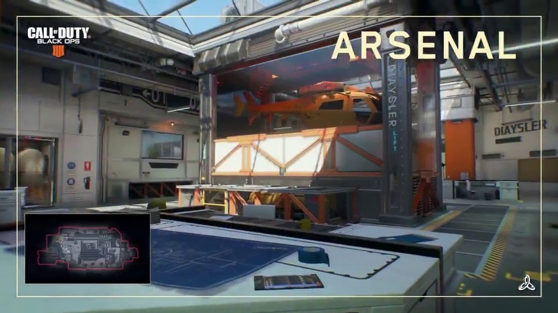 NUEVO MAPA BLACK OPS 4!ARSENAL TRAILER OFICIAL