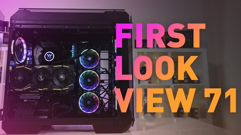 First Look | View 71 Tempered Glass Chassis