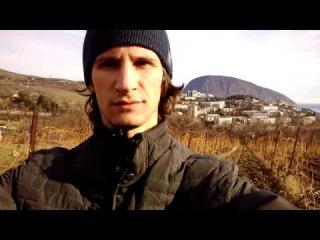 Среди виноградников Крыма