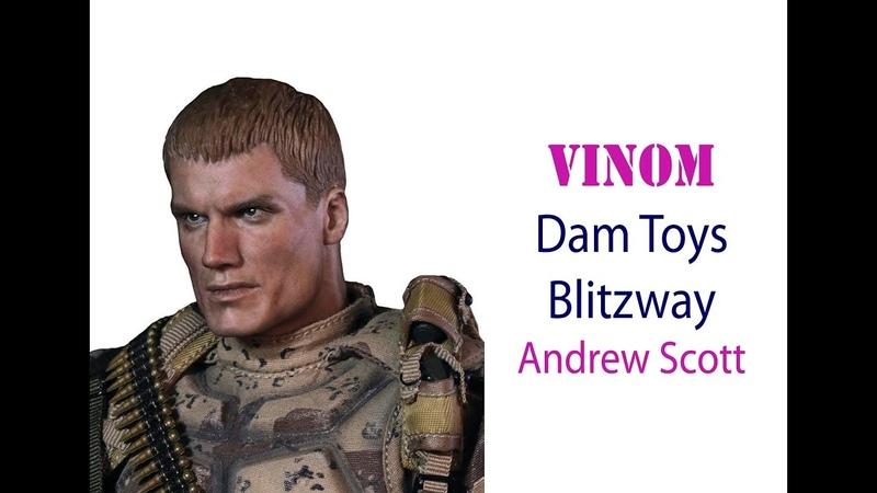 Фигурка Dam Toys x Blitzway - Uniersal Soldier - Andrew Scott