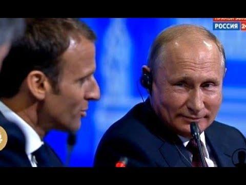 Заплатите как миленькие Путин за 1 минуту поставил на место Президента Франции Полный ОБЛОМ