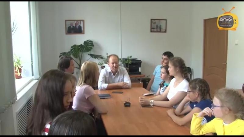 Лагерь журналистики. Встреча с известными людьми