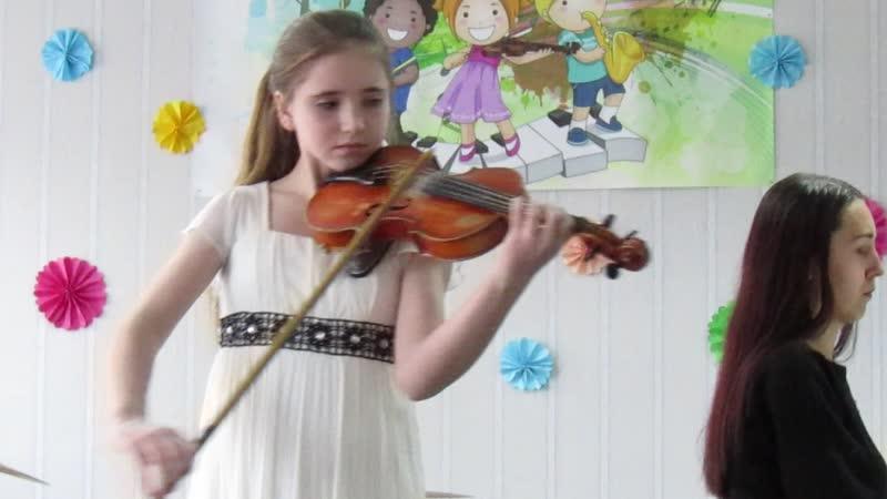 Маша, отчетный концерт 19.04.2019 г.