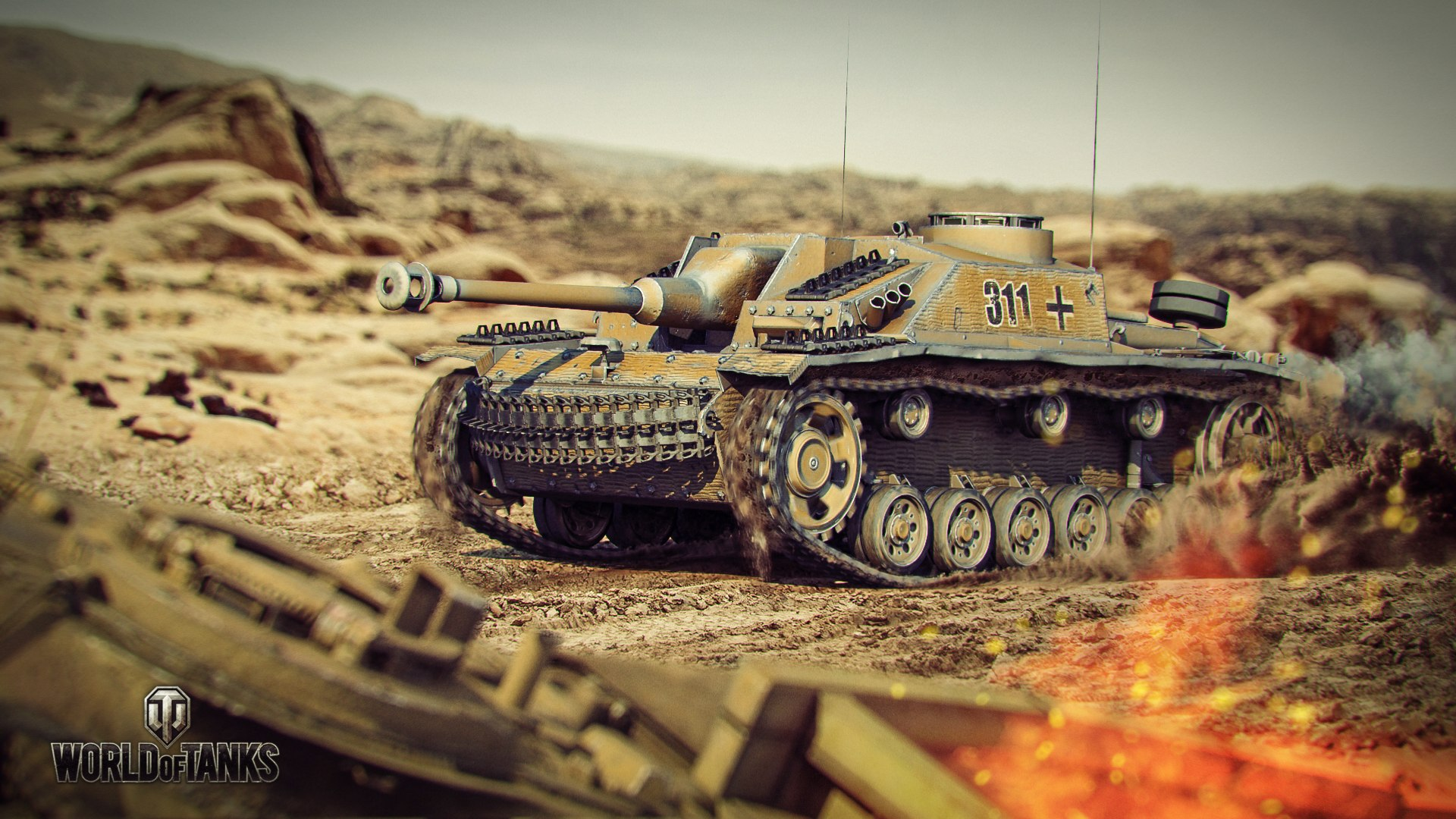 рисунок World Of Tanks StuG. 40