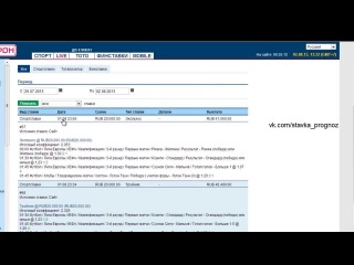 Как Заработать Миллион в Интернете  С Помощью Букмекерских Контор 01.08.13