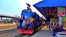 Bangladesh Railway. Departure train from Dhaka Airport/ Отправление поезда в Бангладеш.