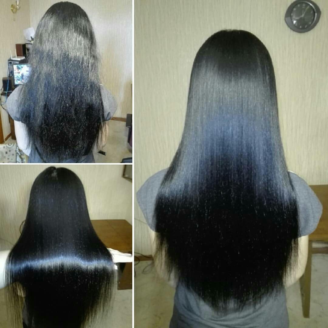 Желатин для волос, Кератиновое выпрямление волос, Кератиновое восстановление волос