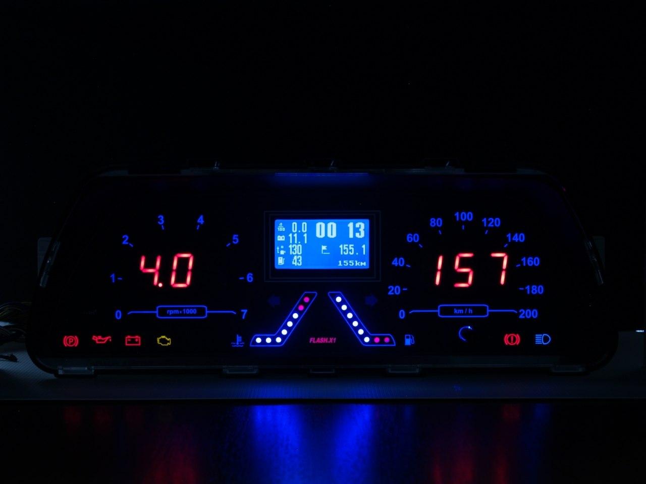 Фото №9 - приборная панель для ВАЗ 2110 с бортовым компьютером