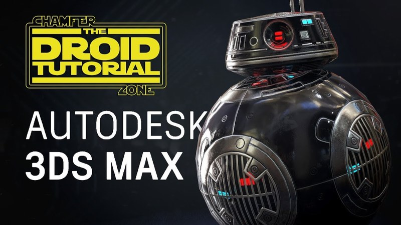 Droid Tutorial - Part 1 - Modeling UV Unwrapping - 3Ds Max