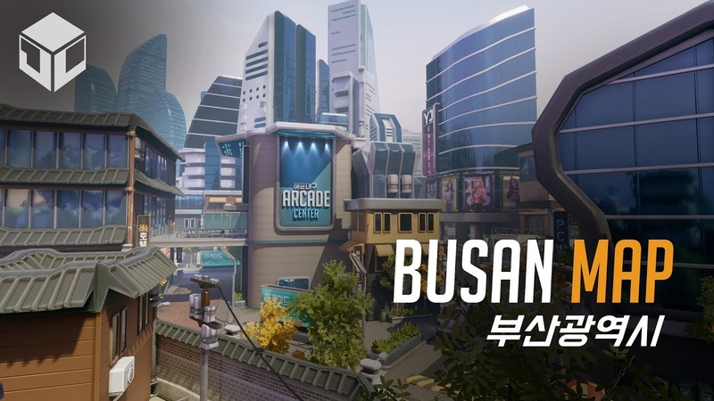 Busan Map - Unreal Engine 4   Overwatch Inspired
