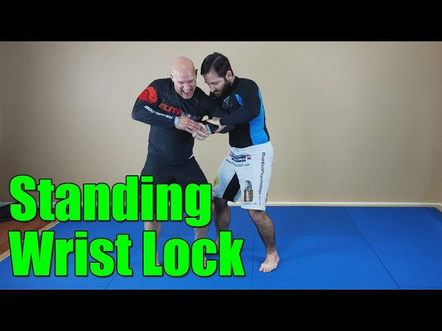 Channel your inner Steven Seagal for this Wrist Lock