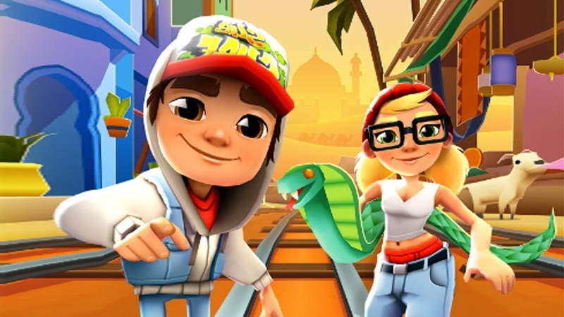 SUBWAY SURFERS GAMEPLAY PC HD - MARRAKESH - JAKETRICKY AND 100 MYSTERY BOXES OPENING