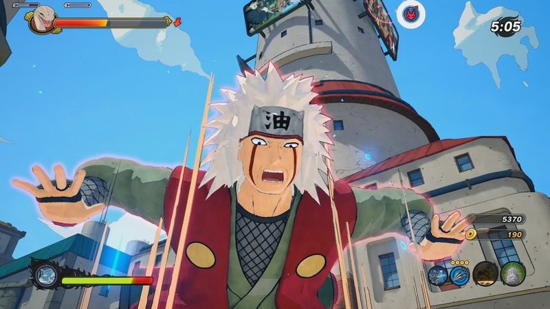 Naruto to Boruto Shinobi Striker PC - Jiraiya DLC Online Coop Gameplay 1080p 60 FPS