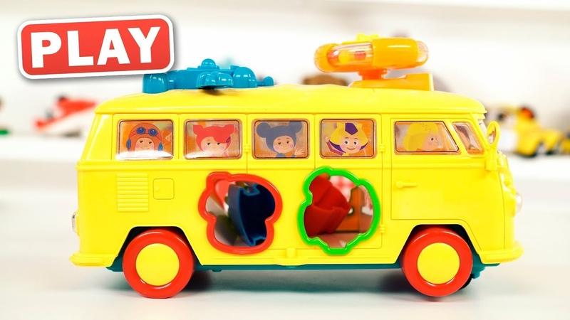 РАСПАКОВКА - Автобус Сортер Музыкальная Игрушка КУКУТИКИ - КУКУТИКИ PLAY