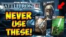 Star Wars Battlefront 2 - 10 TERRIBLE Hero Star Cards You Should NEVER Use! Battlefront II