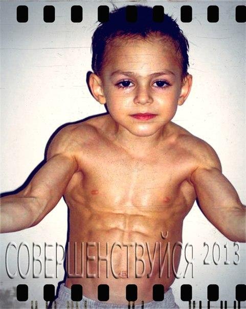 7-летний румынский мальчик Джулиано Строе благодаря своим невероятным физич