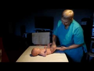 Массаж для новорожденных. Очень Полезно!!! Часть 1