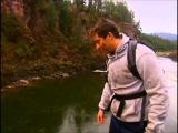 Bear Grylls jump into the water from a great height/Беар Гриллс прыжок в воду с большой высоты