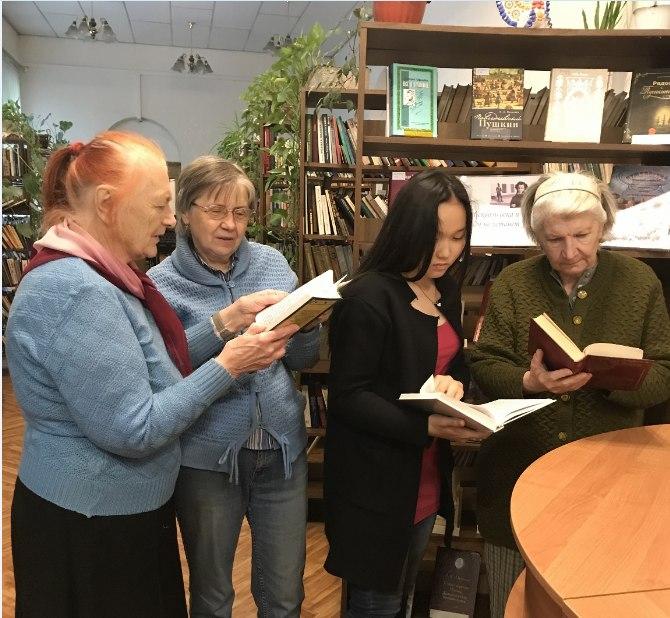 День рождения Пушкина отметили в библиотеке №27 Ховрина