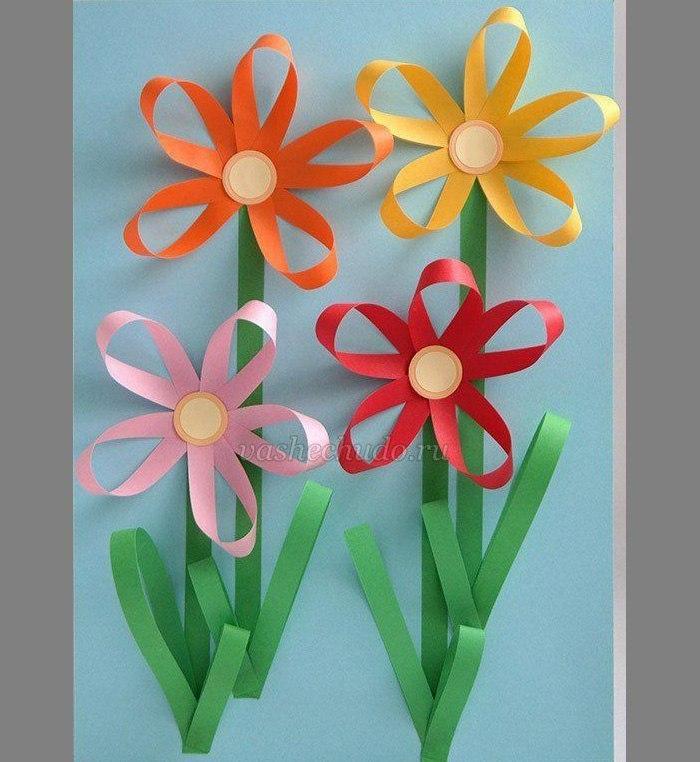 Поделки из цветной бумаги для начальной школы с шаблонами