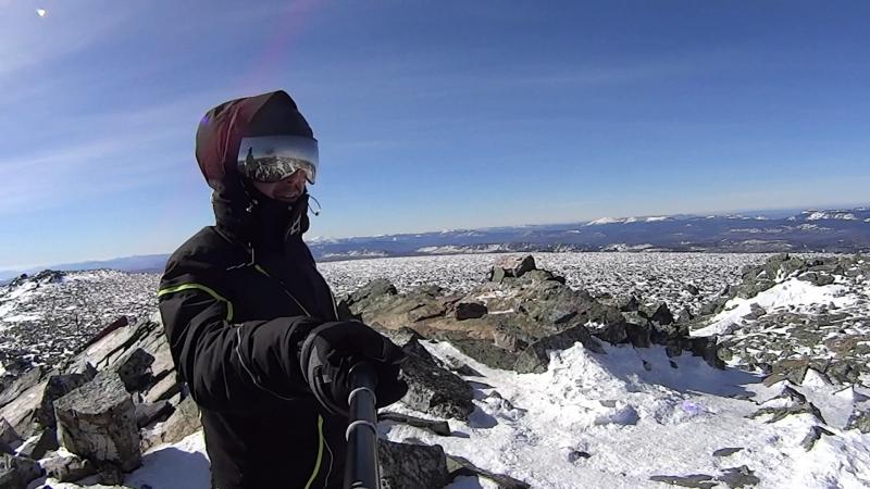 На лыжах с Иремеля
