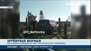 Священик за кермом позашляховика зніс із десяток пам'ятників на Харківському цвинтарі