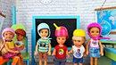 УРОК В НОВОМ КЛАССЕ Минута позора Школьные истории Куклы Барби Видео для девочек Игры в куклы