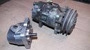 Гидравлика на минитрактор 1 Муфта от кондиционера на НШ-10