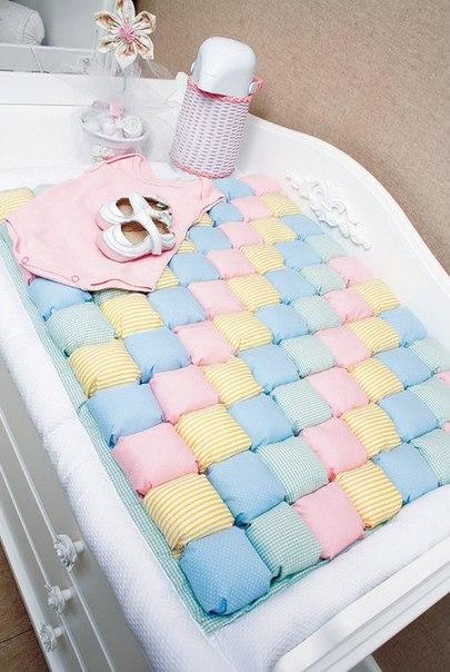 Детское одеяло в технике «Bubble Quilt». Мастер-класс