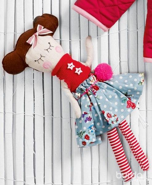 Милая куколка. Для малышей.