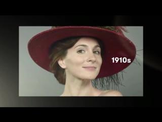 Эволюция женской красоты в Ирландии за последние 100 лет