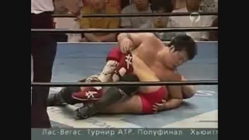 Бушидо 18 - Кийоши Тамура - Йоджи Анджо (2 бой)