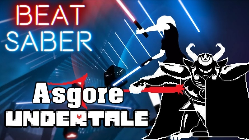 Beat Saber Asgore Undertale custom song FC