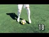 32 футбольных упражнения на улучшение навыков владения мячом
